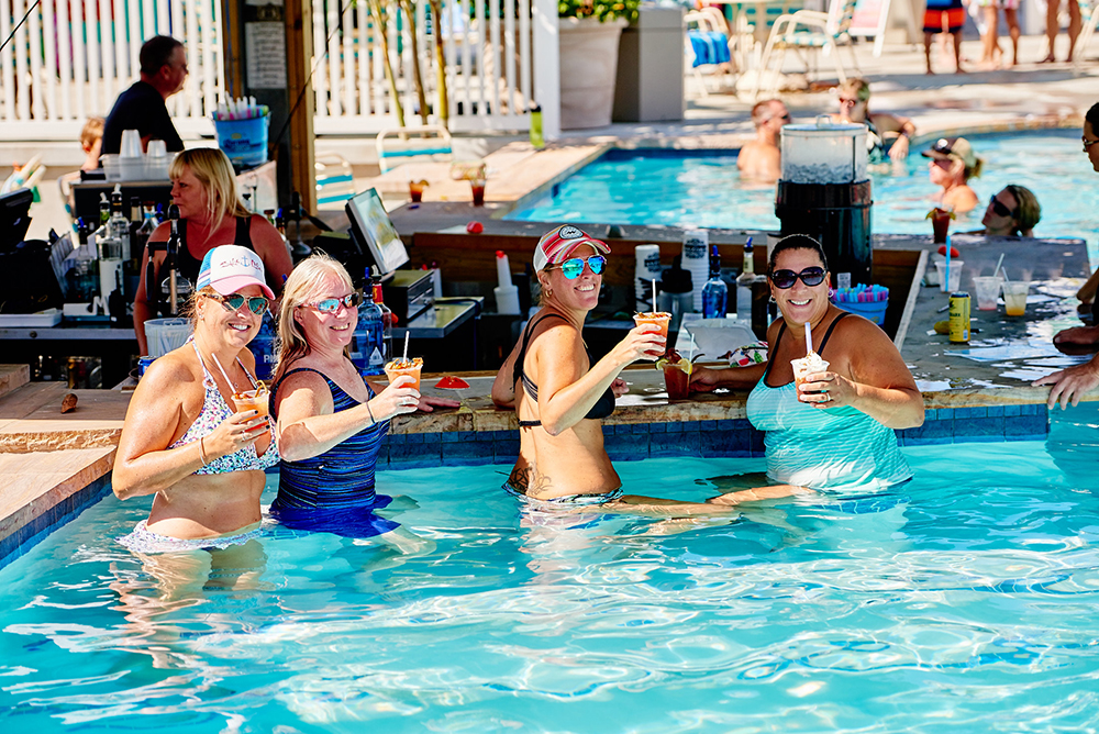 Pool Bar at Massey's Landing
